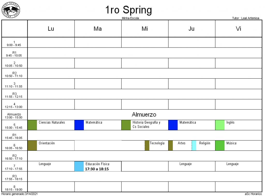 1° Spring