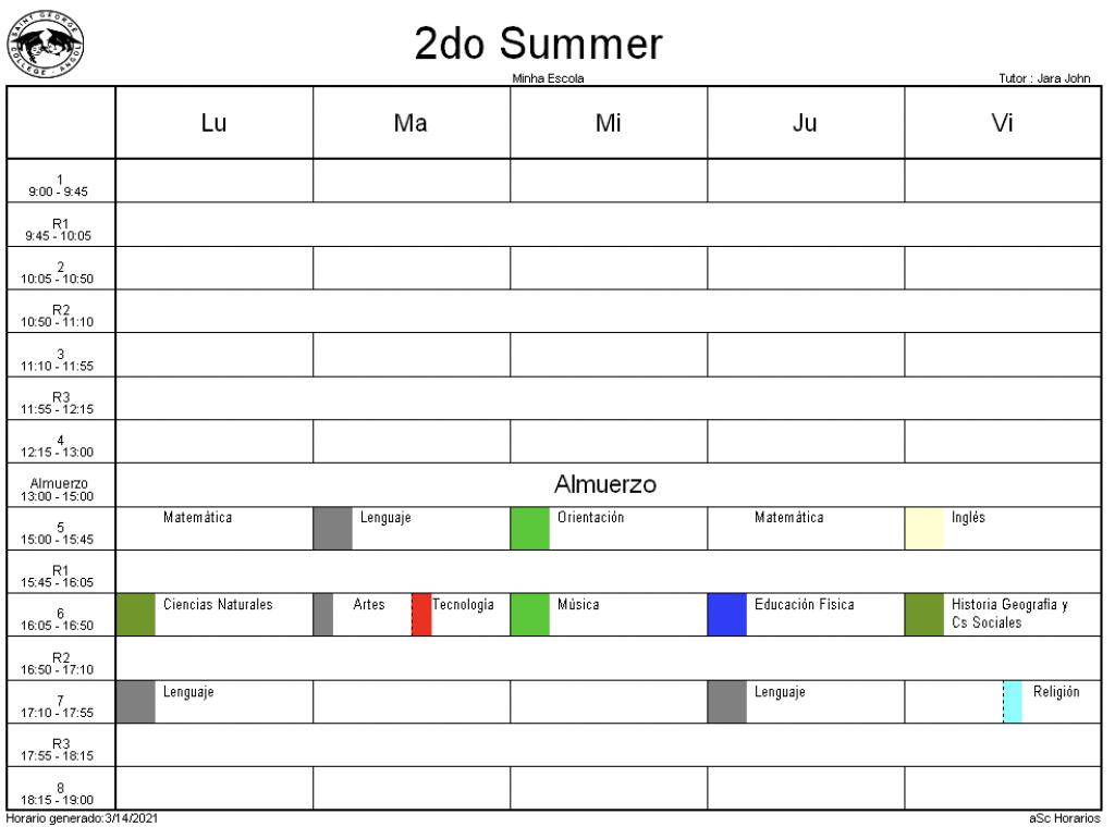 2° Summer