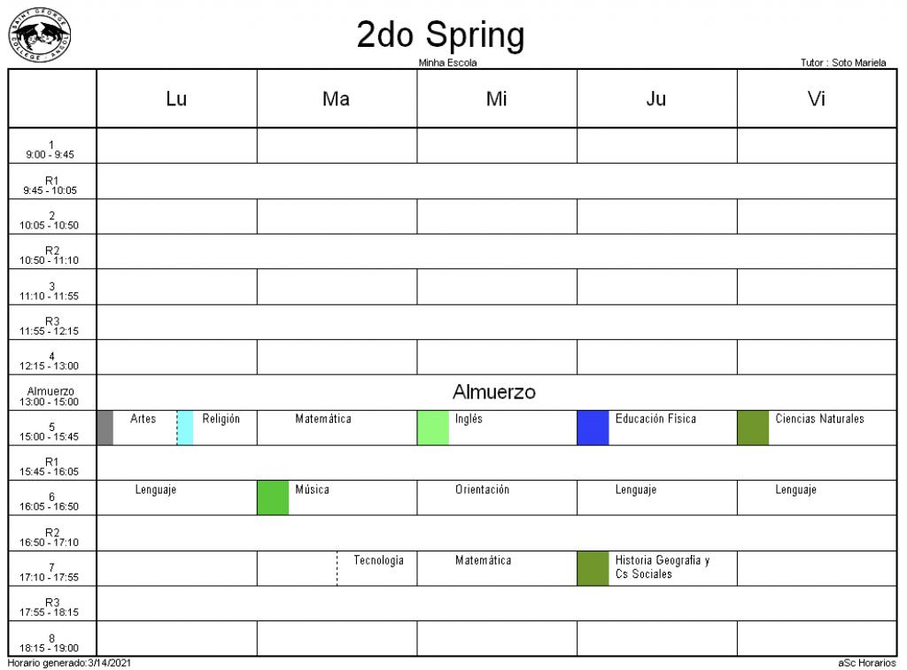 2° spring
