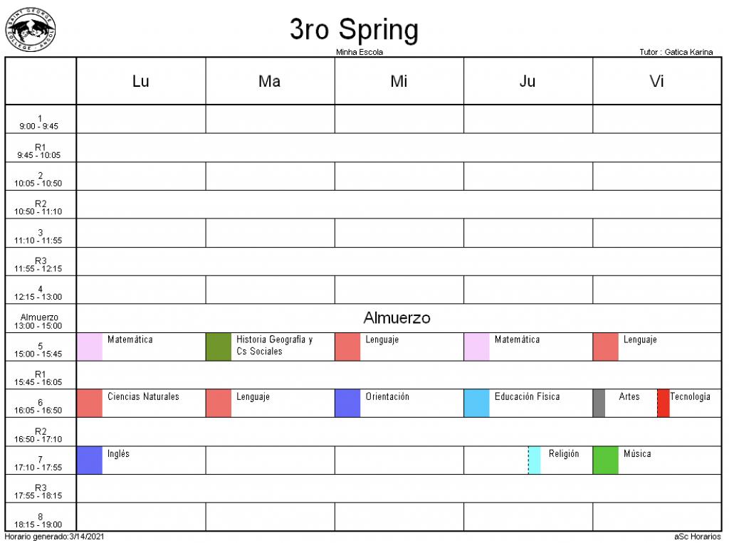3° Spring