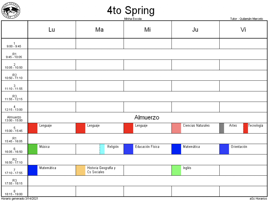 4° Spring