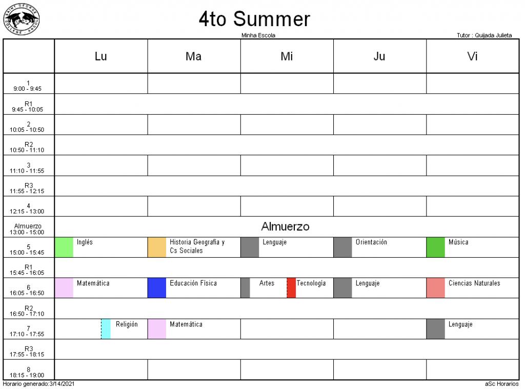 4° Summer