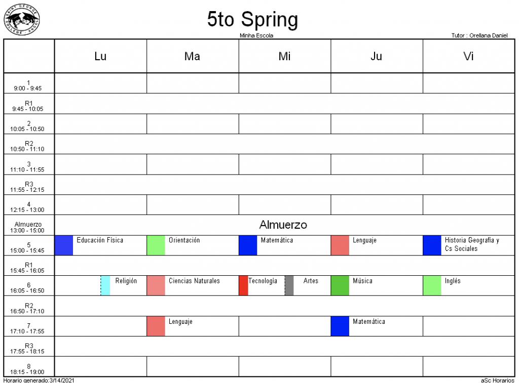 5° Spring