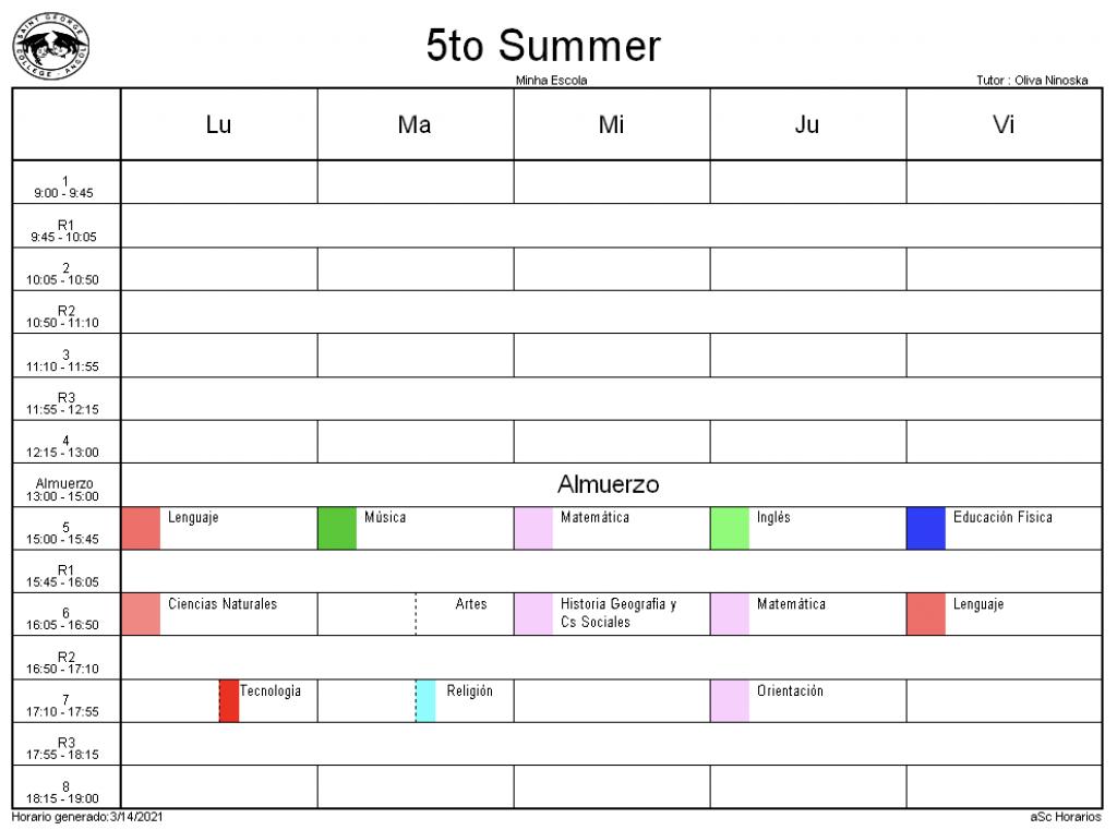 5° Summer