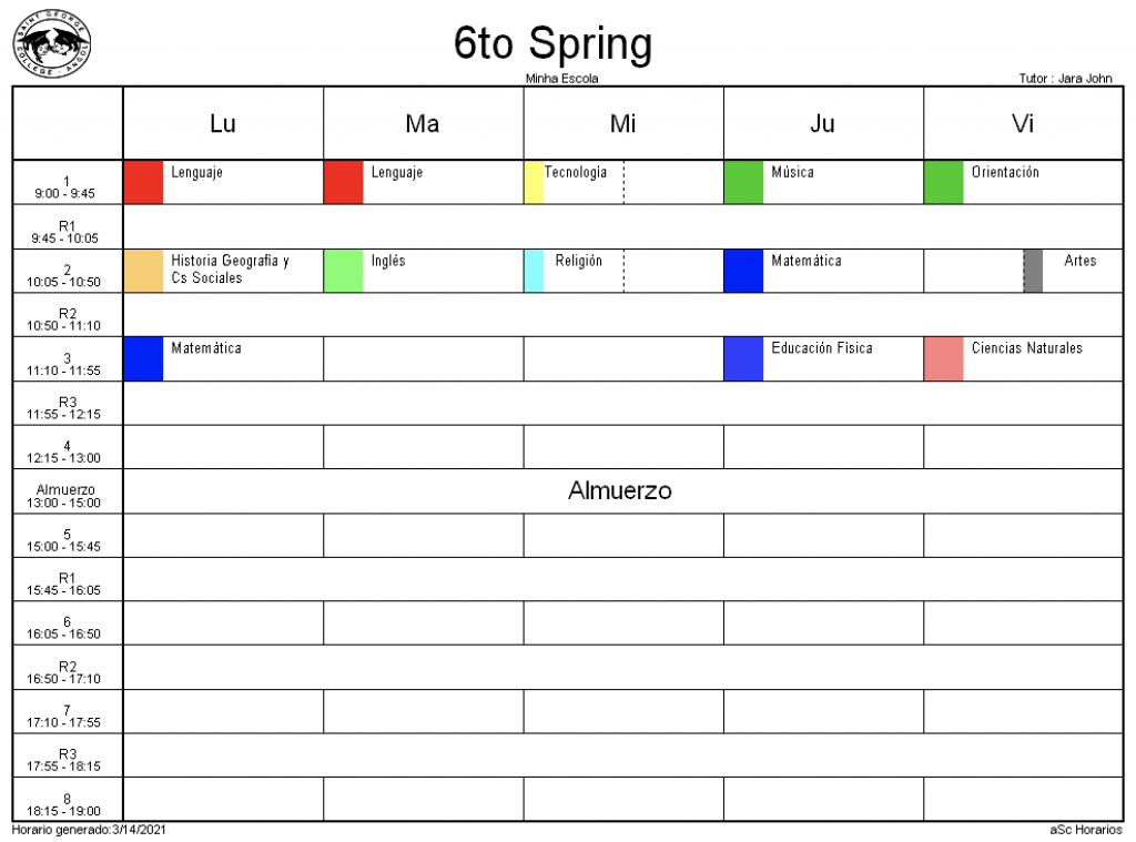 6° Spring