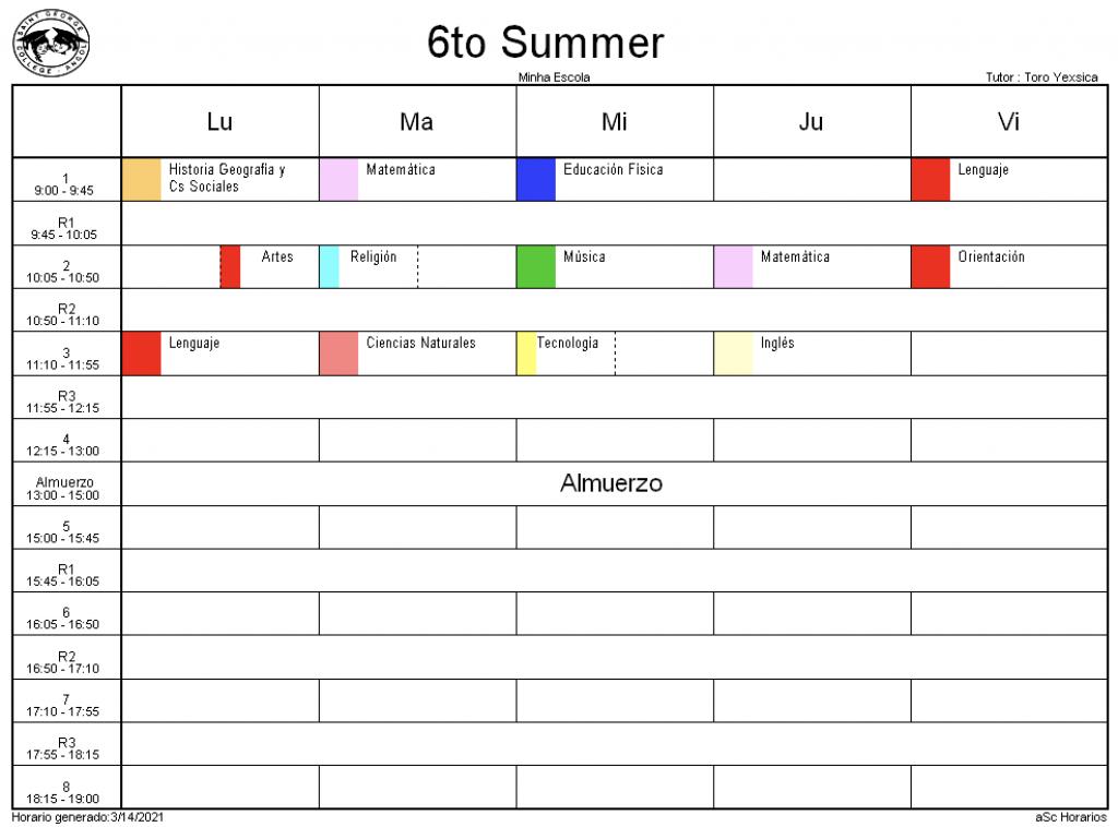 6° Summer