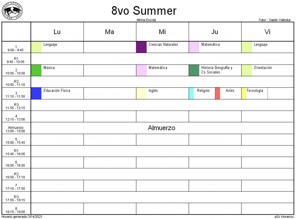 8° Summer